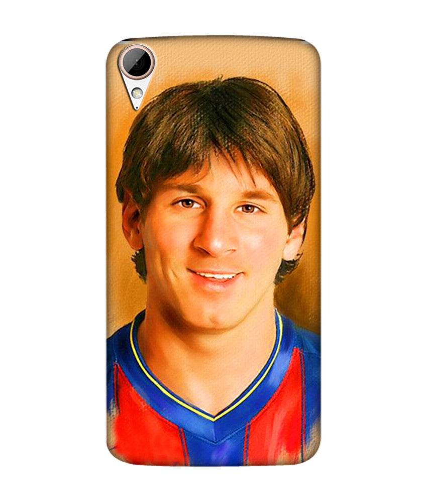 Creatives 3D Lionel Messi Htc Case