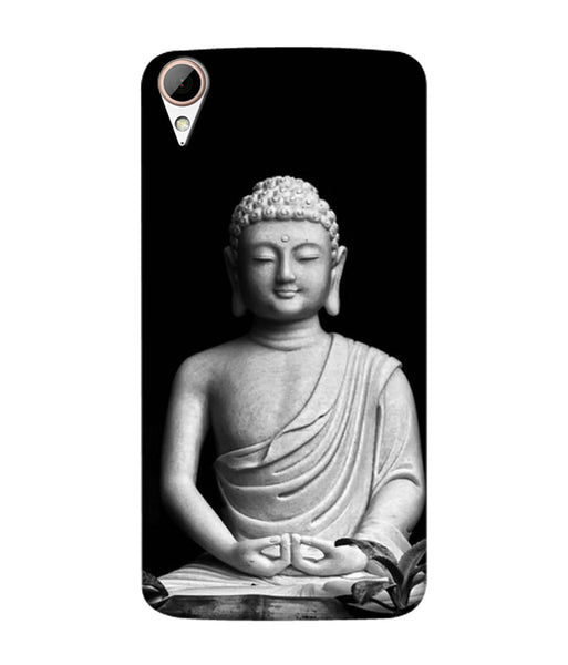 Creatives 3D Black & White Buddha Htc Case