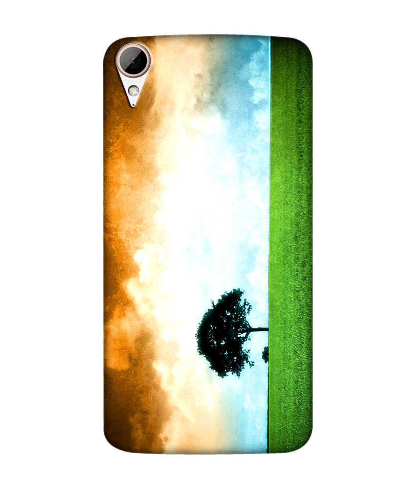 Creatives 3D Indian Flag Htc Case