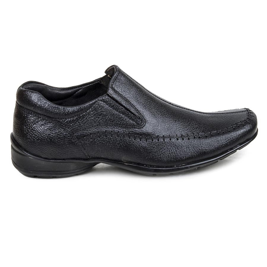 Massimo Italiano Black Formal Shoes For Men