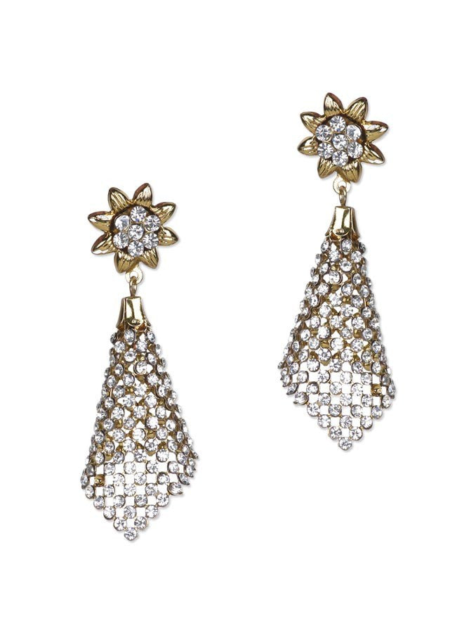 Embellished Golden Earring