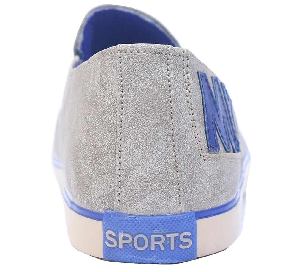 Scootmart Silver Casual Shoes