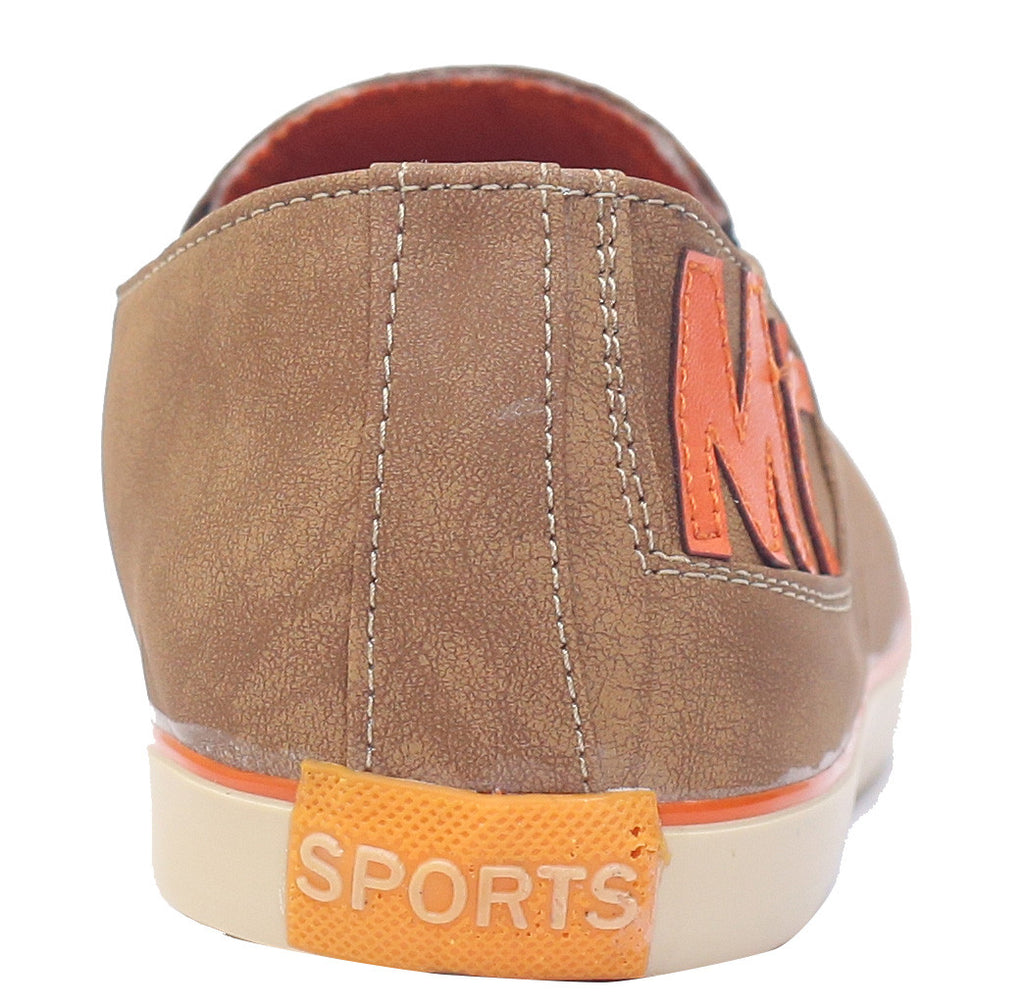 Scootmart orange shoes