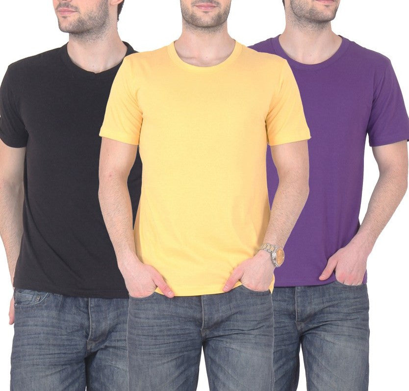 Awesome Tees Men T-Shirt Combo Of 3