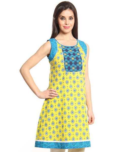 IMARA by Sharddha Kapoor Sleeveless A-Line Kurta