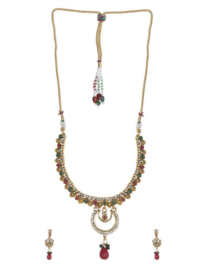 Charming Beauty Colored Necklace Set