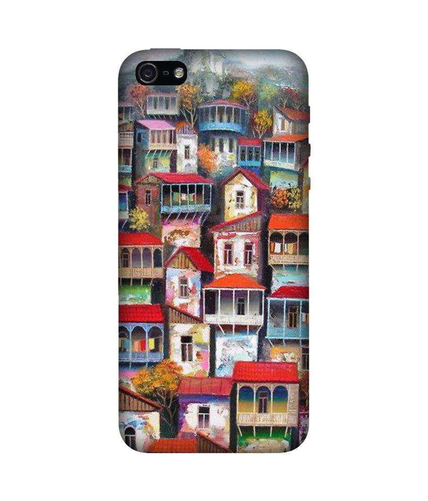 Creatives 3D Houses Iphone Case