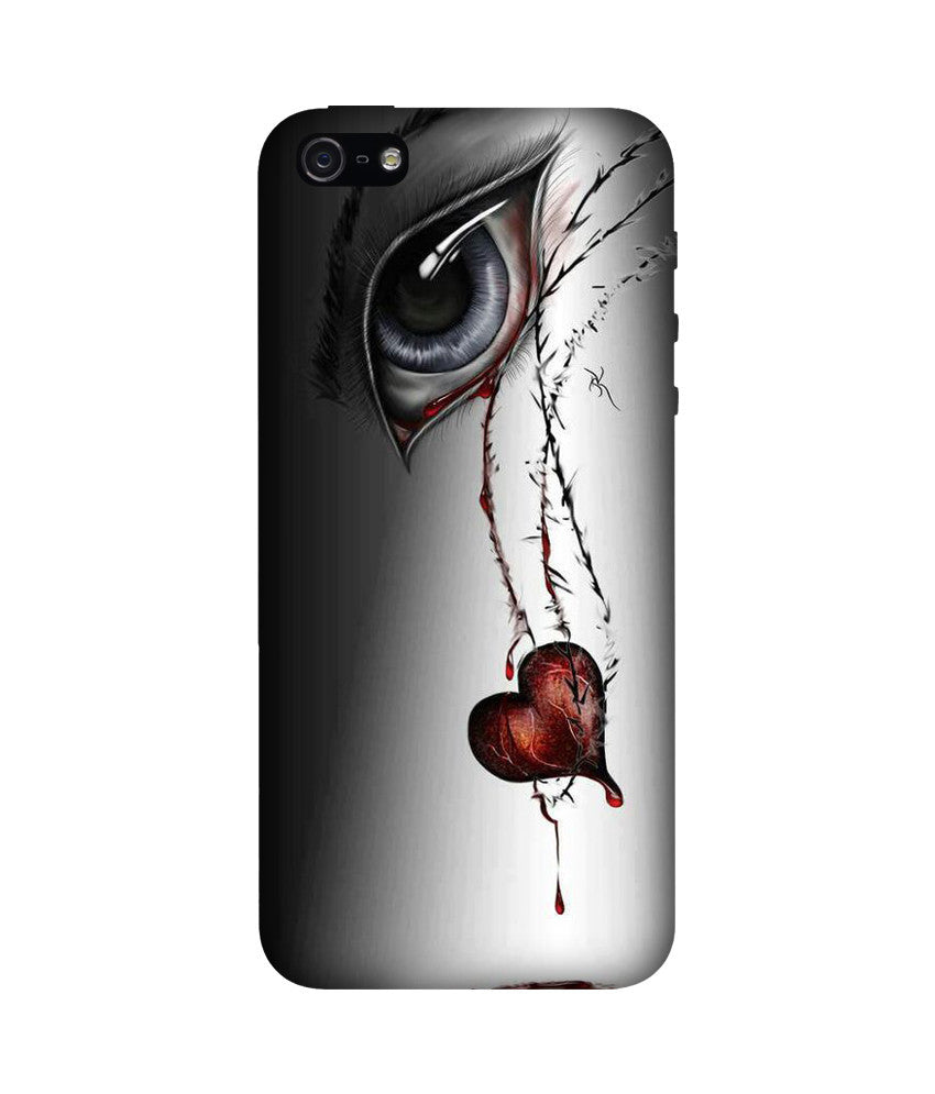 Creatives 3D Eye and Heart Iphone Case
