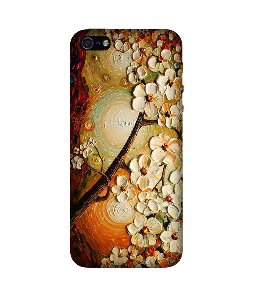 Creatives 3D Flowers Iphone Case