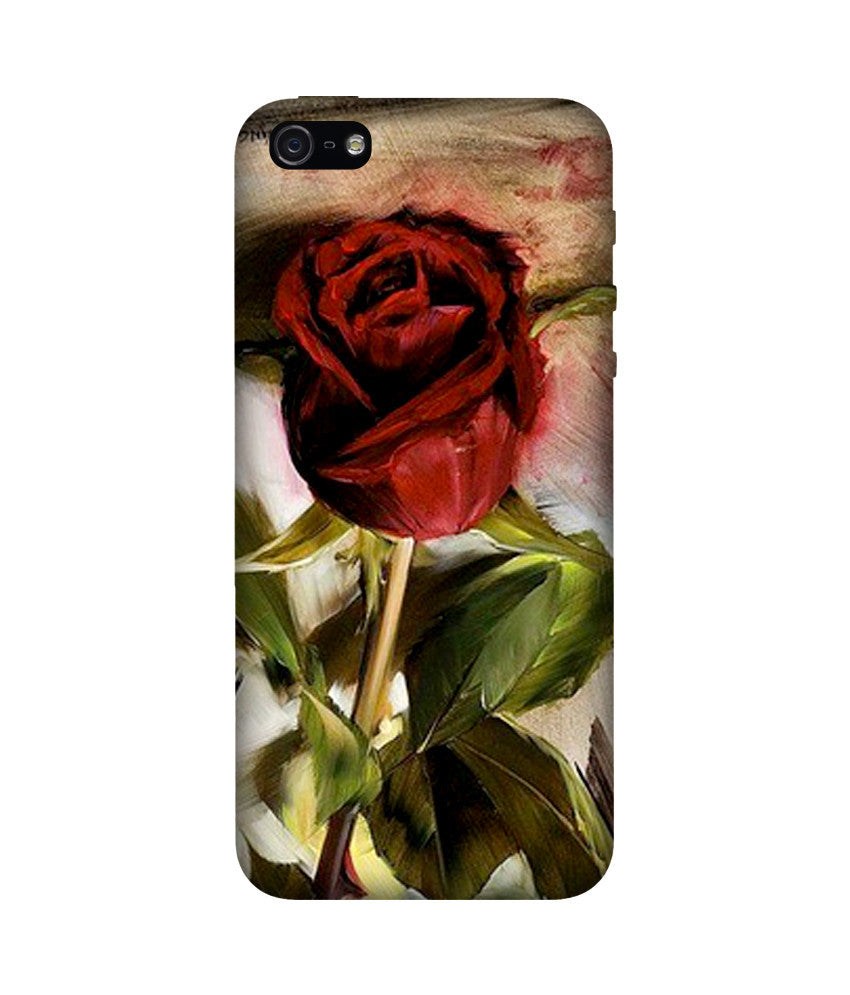 Creatives 3D Rose Iphone Case