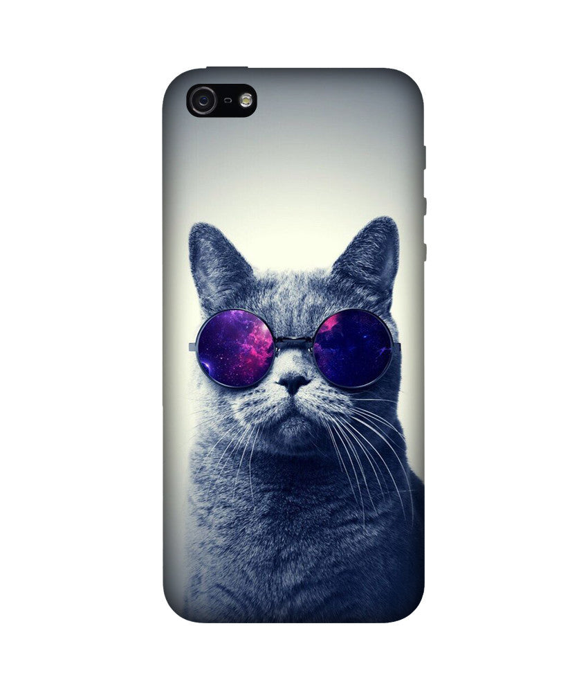 Creatives 3D Cat With Glasses Iphone Case