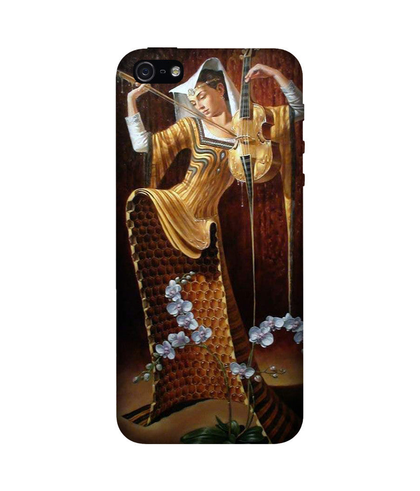 Creatives 3D Beautiful Girl Iphone Case