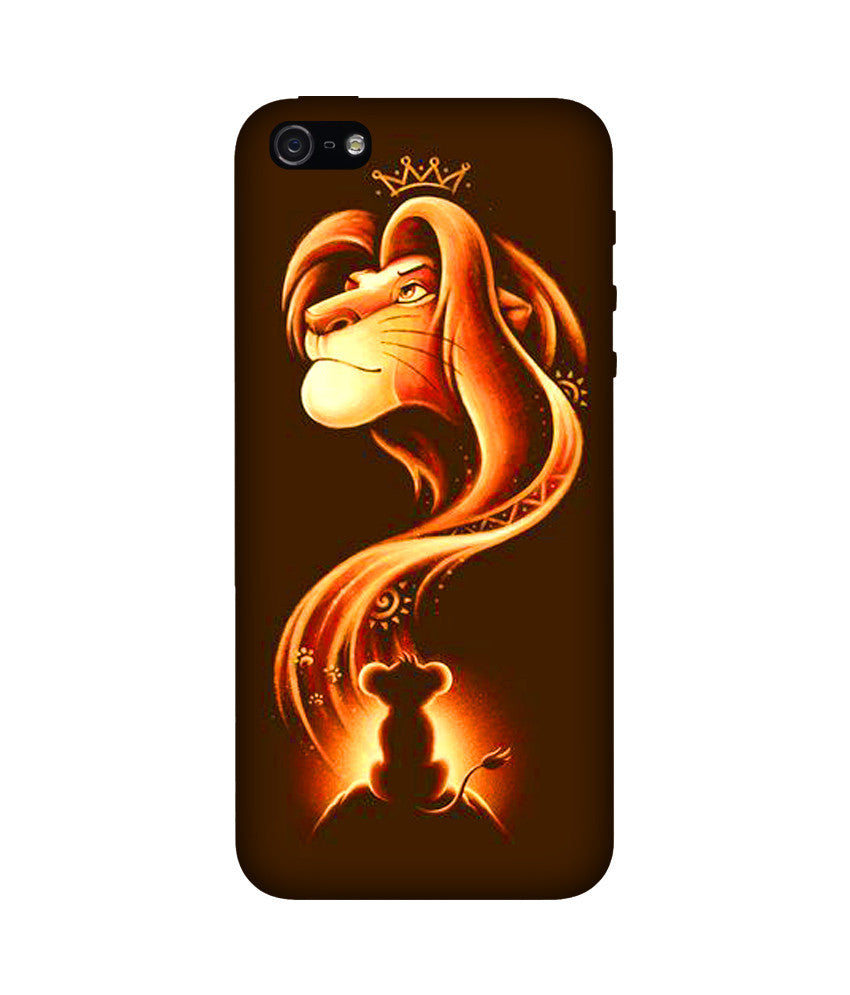 Creatives 3D Lion King Iphone Case