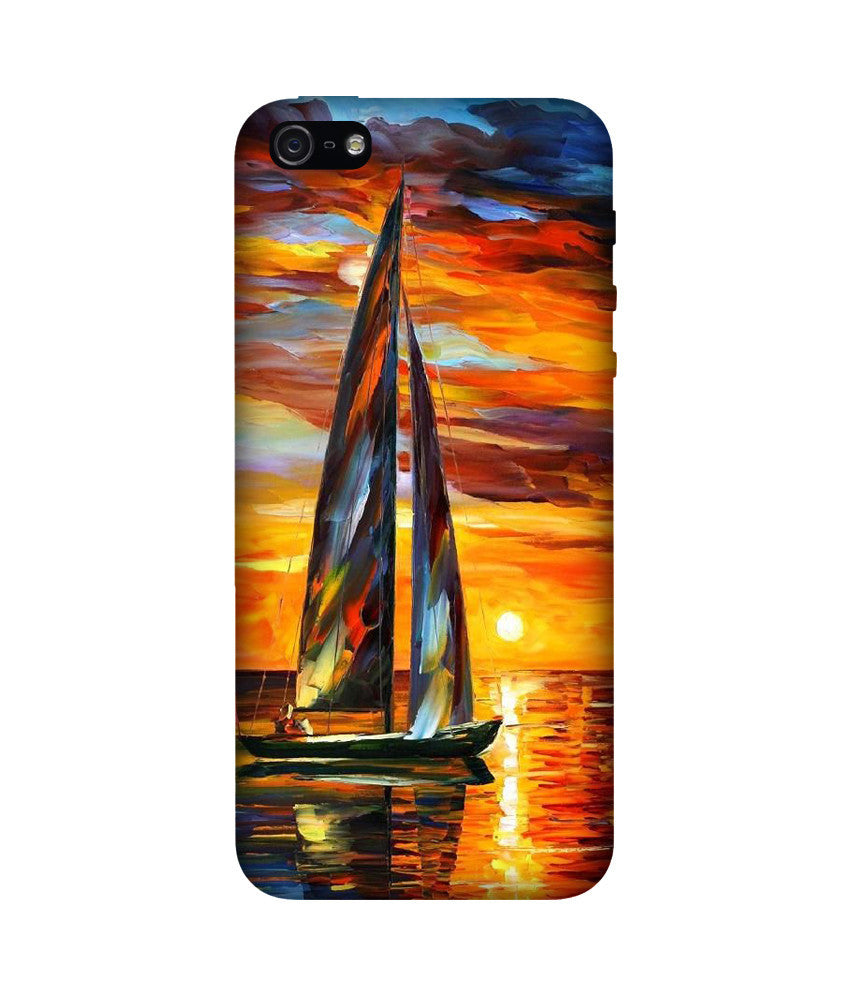 Creatives 3D Ocean Iphone Case