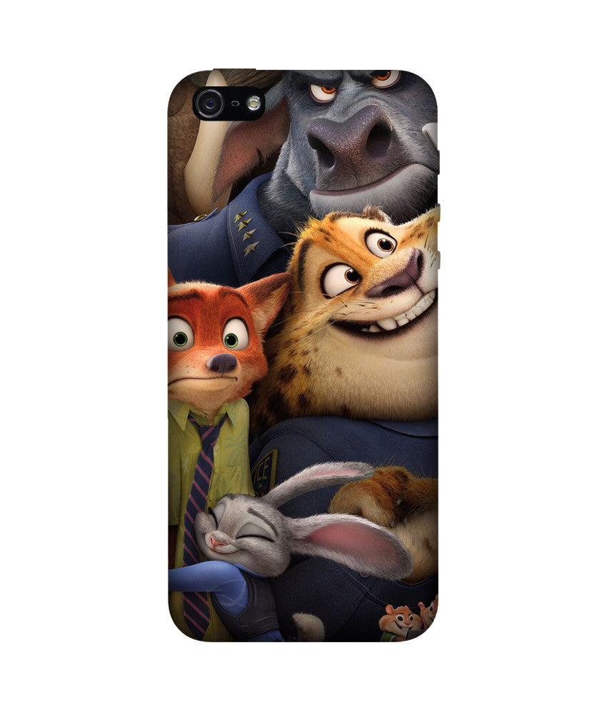 Creatives 3D Zootopia Iphone  Case