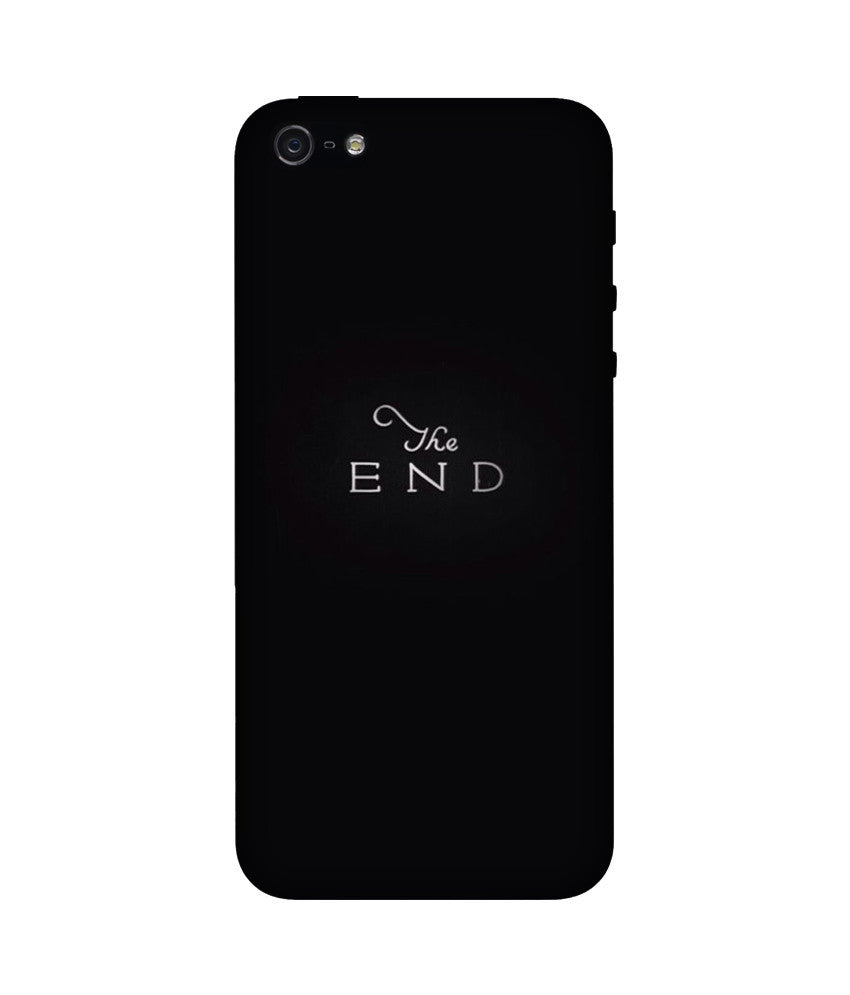 Creatives 3D The End Iphone Case