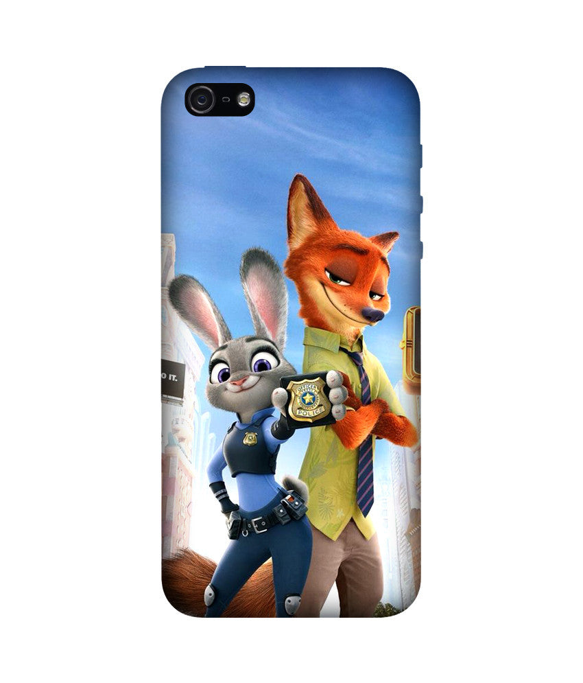 Creatives 3D Crazy Animal City Iphone  Case