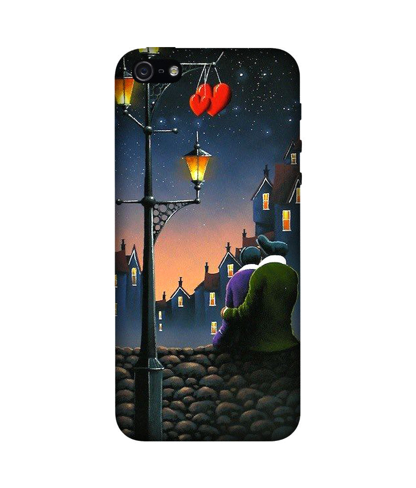 Creatives 3D Love Couple Iphone Case