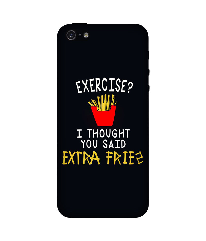 Creatives 3D Funny Quotes Iphone Case