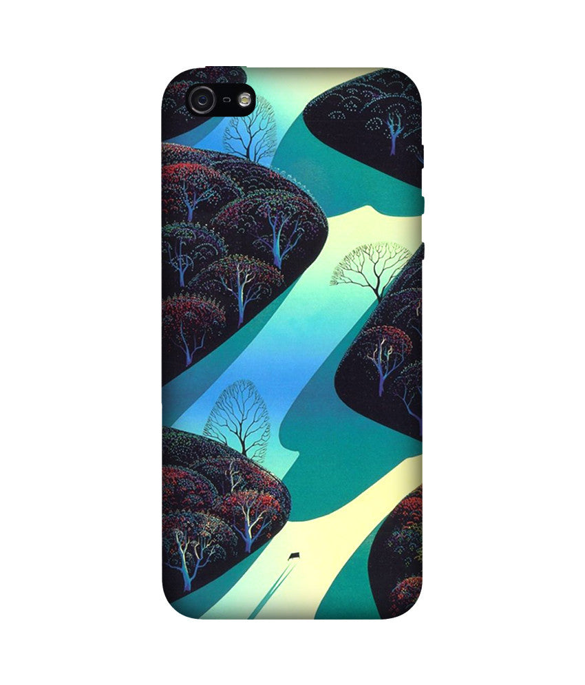 Creatives 3D Eyvind Earle Iphone Case