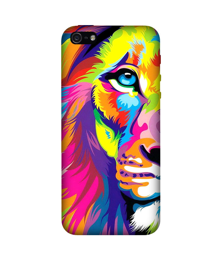 Creatives 3D Rainbow Lion Iphone Case