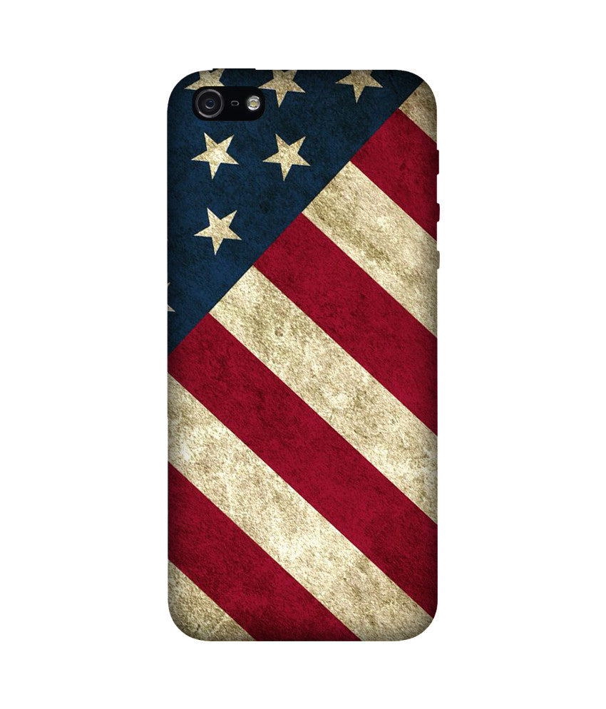 Creatives 3D American Flag Iphone Case