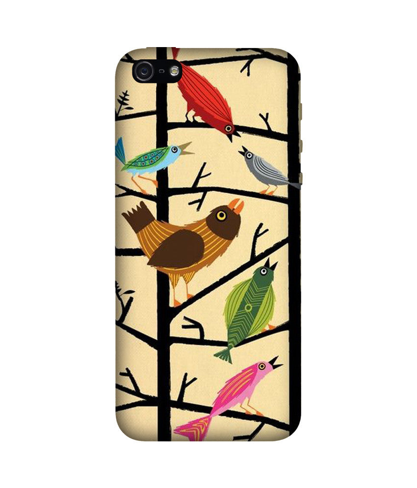Creatives 3D Birds Iphone Case