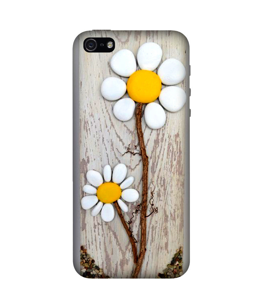 Creatives 3D Rock Flower Iphone  Case