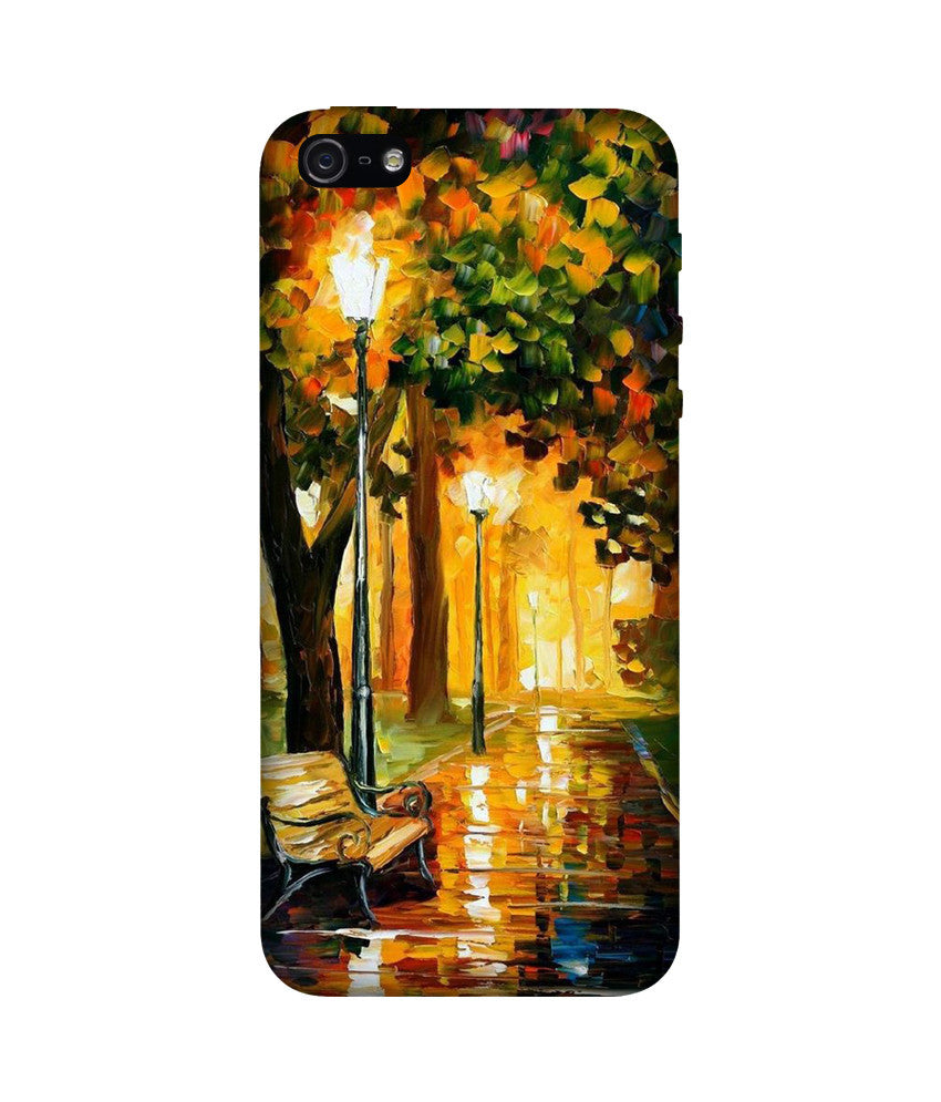 Creatives 3D Park Lights Iphone Case