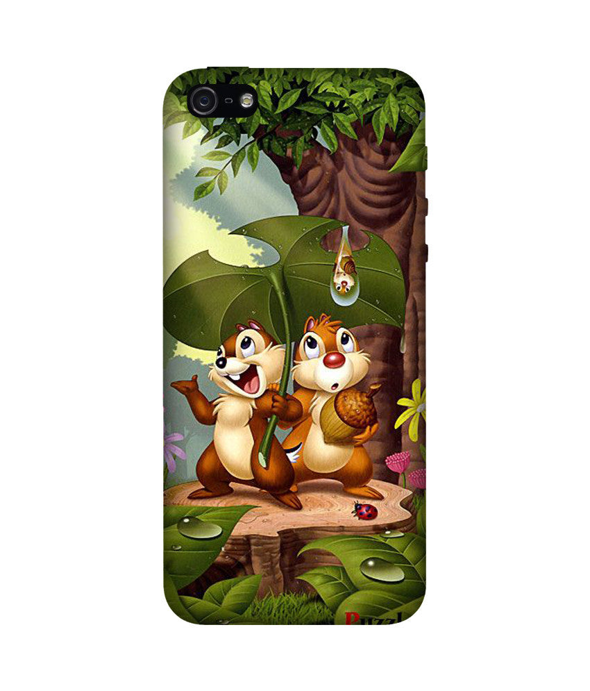 Creatives 3D Chip 'n' Dale Iphone Case