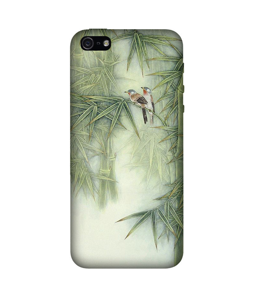 Creatives 3D Bamboo Leaves Iphone Case