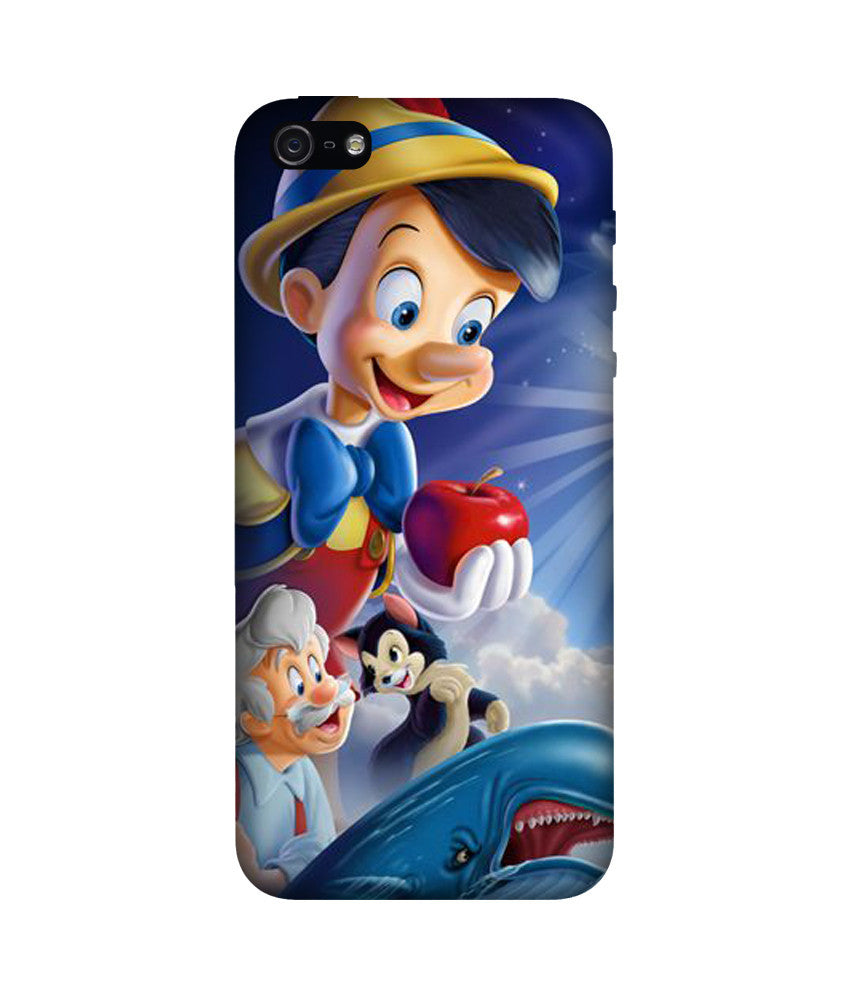 Creatives 3D Pinocchio Iphone Case