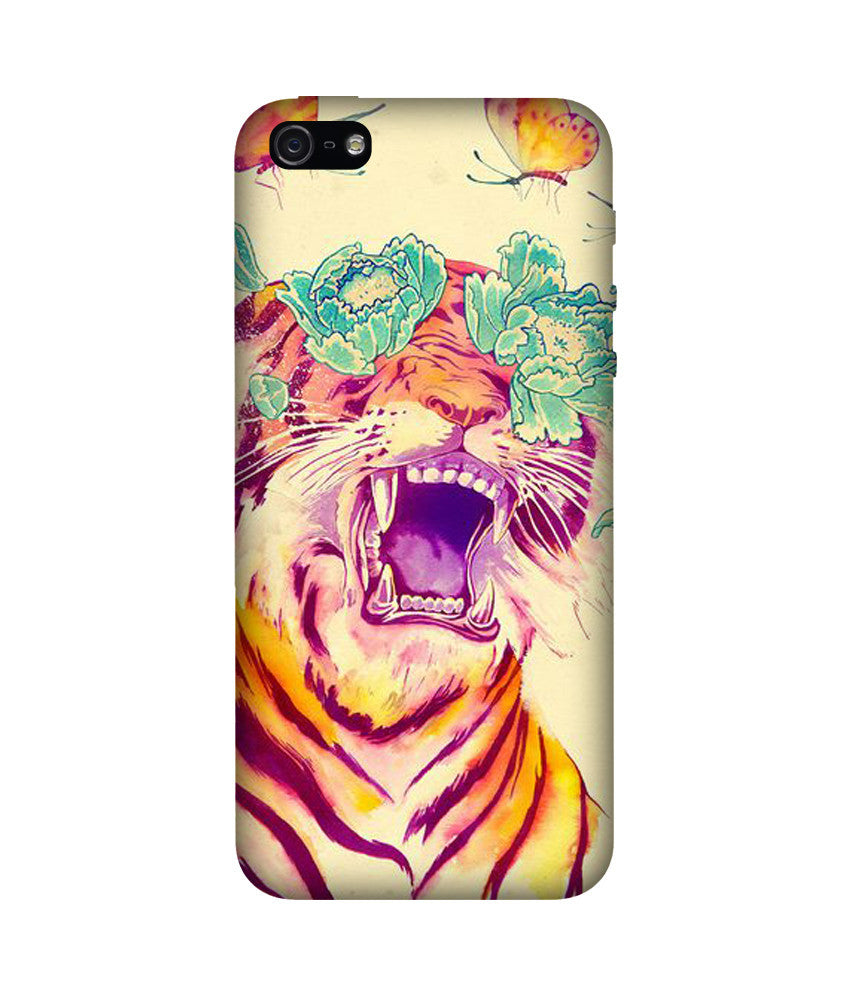 Creatives 3D Tiger Iphone Case