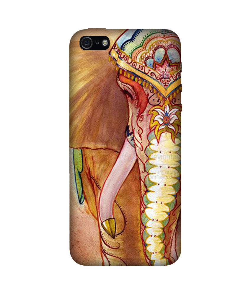 Creatives 3D Painted Elephant Iphone Case