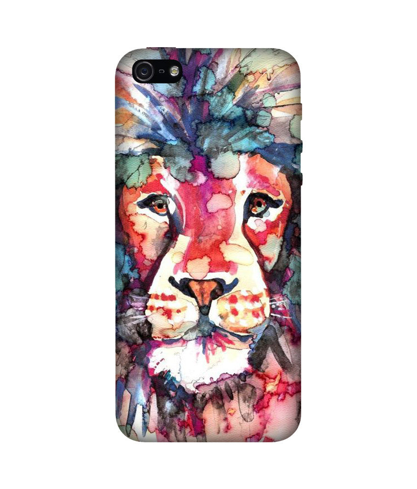Creatives 3D Lion Iphone Case