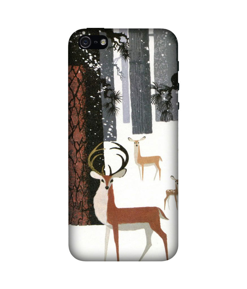 Creatives 3D Deer Iphone Case