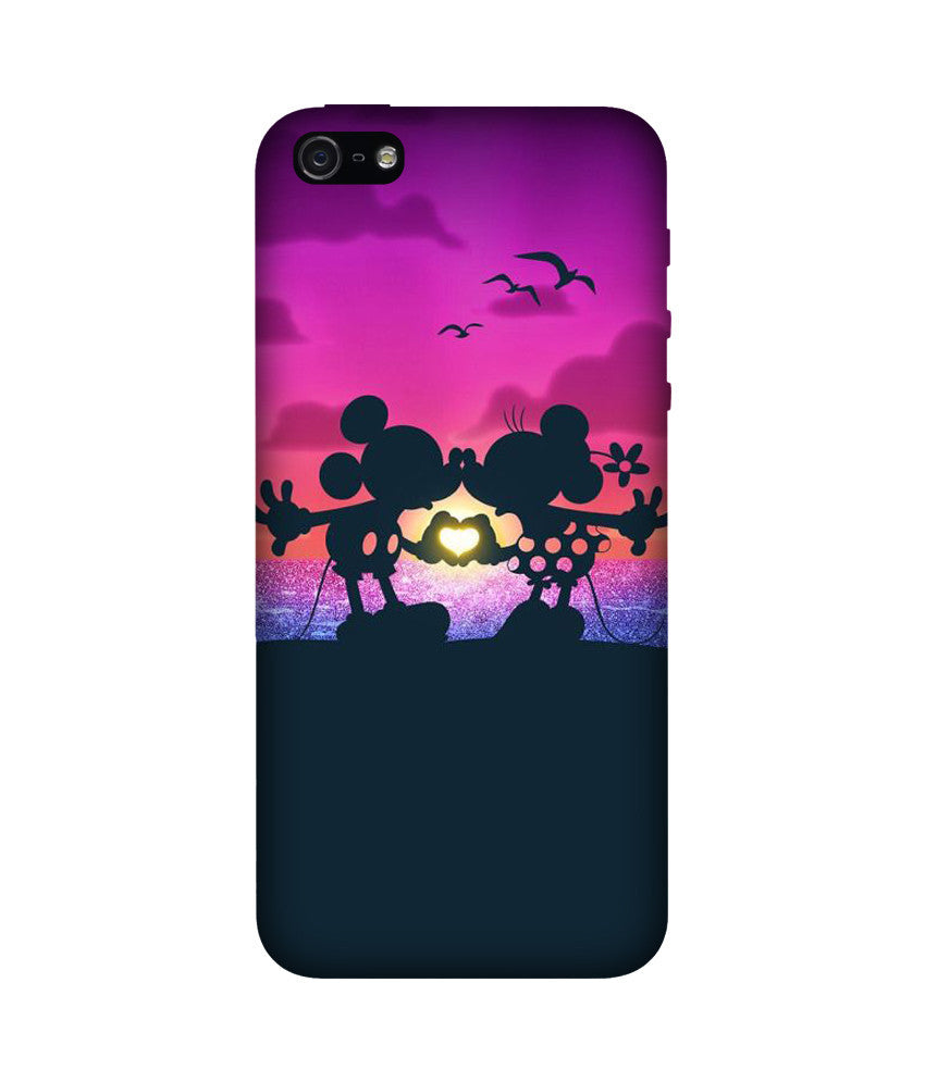 Creatives 3D Mickey and Minnie Iphone Case