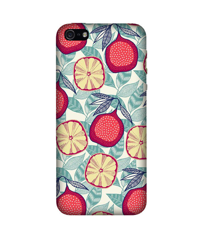 Creatives 3D Fruit Pattern Iphone Case