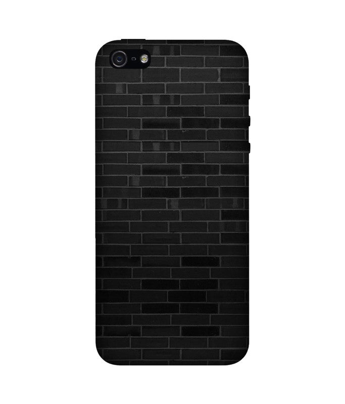 Creatives 3D Black Brick Pattern Iphone Case