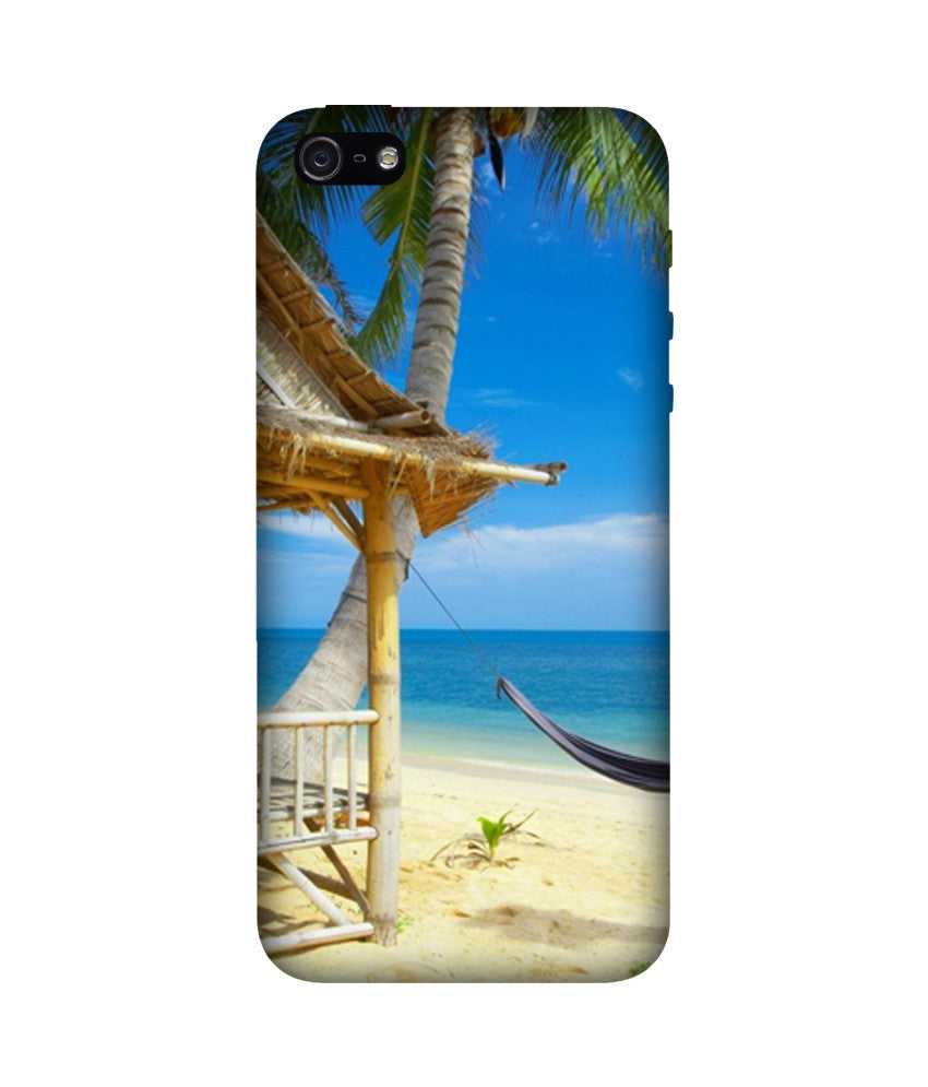 Creatives 3D Hammock On Beach Iphone Case