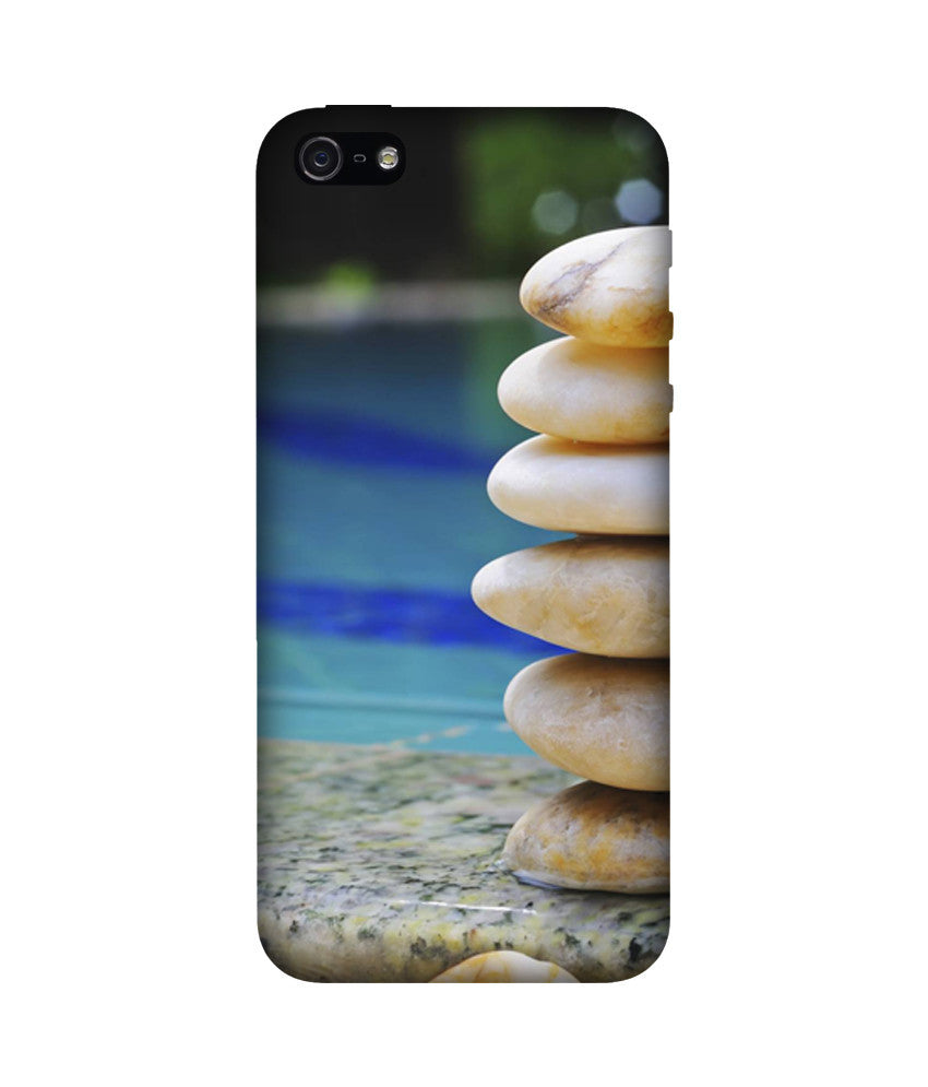 Creatives 3D Pebble Stone Iphone Case