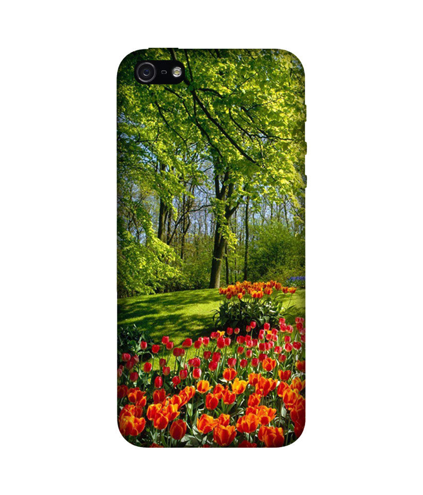 Creatives 3D Tulip Flower Iphone Case