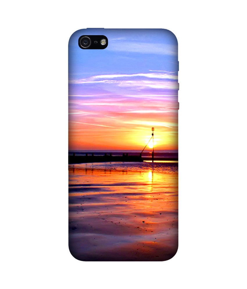 Creatives 3D Sunset Iphone Case