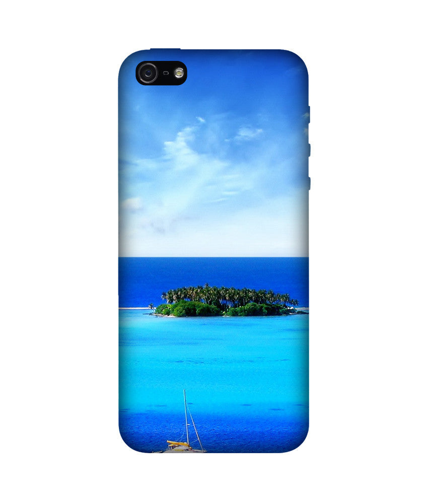 Creatives 3D Beach Iphone Case