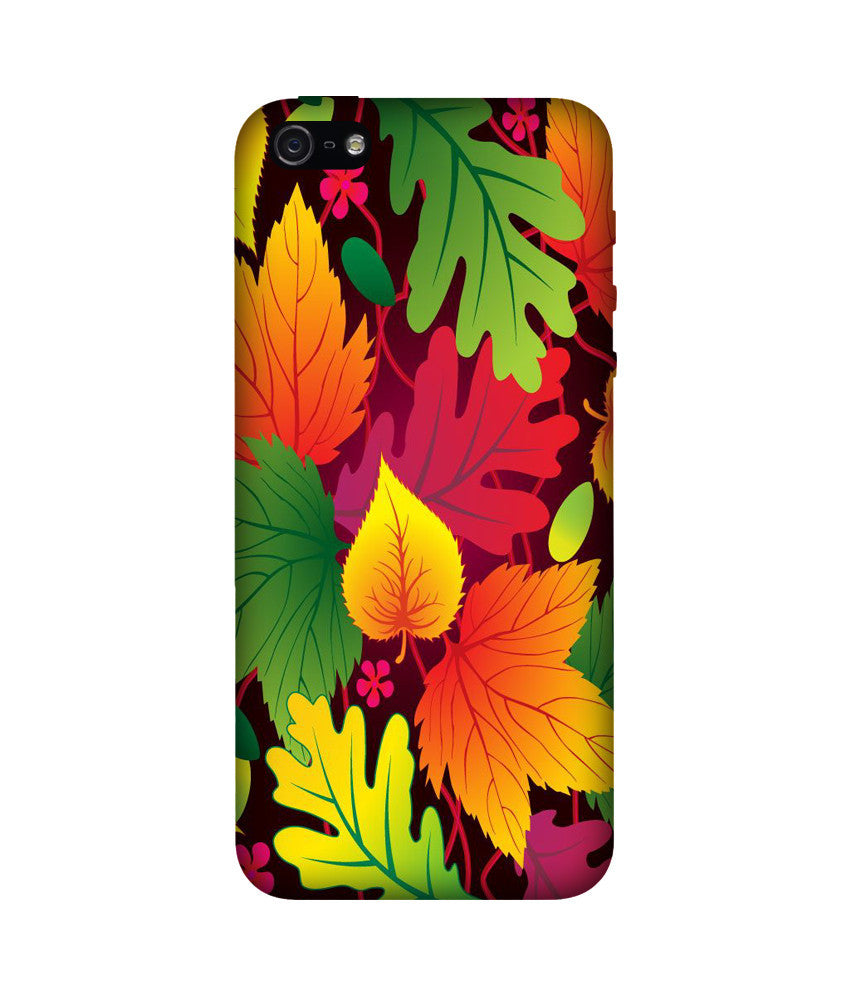 Creatives 3D Leaves Iphone Case