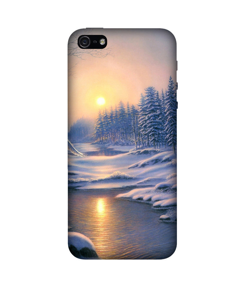 Creatives 3D Winter Iphone Case