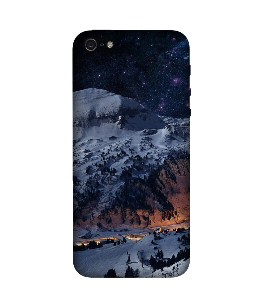 Creatives 3D Winter Mountains Iphone Case