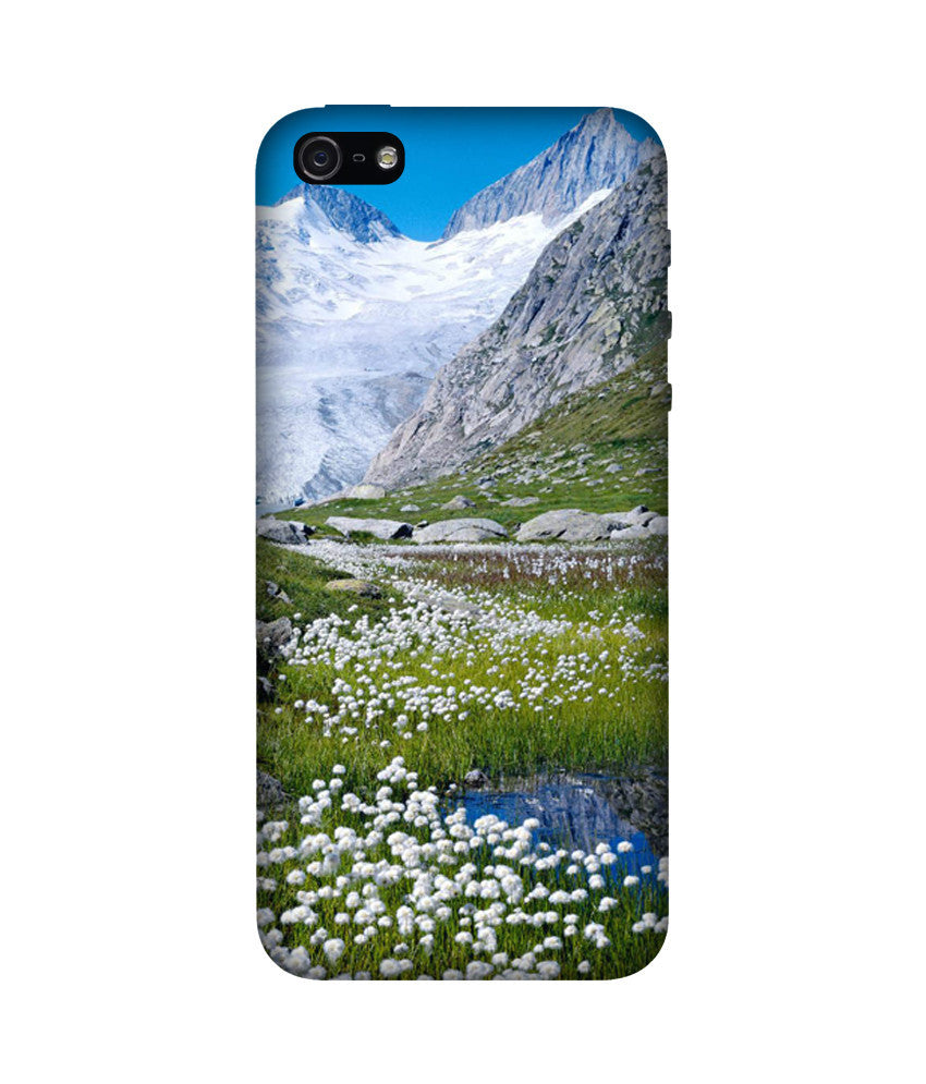 Creatives 3D Alps Hills Iphone Case