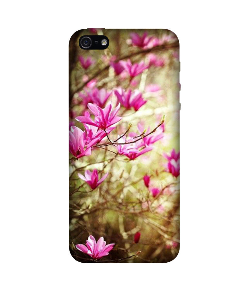 Creatives 3D Magnolia Flowers Iphone  Case