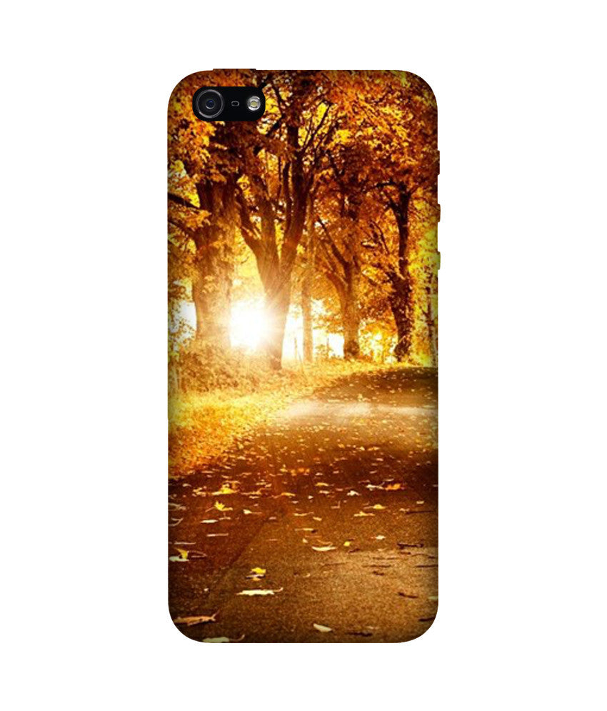 Creatives 3D Falling Leaves Iphone Case